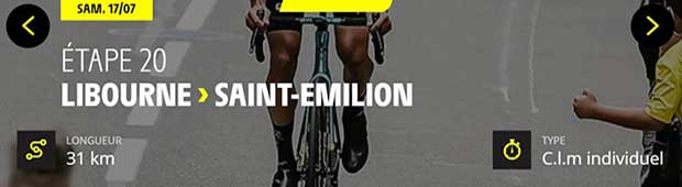Tour de France 2021 Saint-Emilion