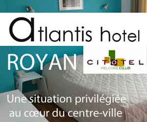 hôtel Atlantis Royan