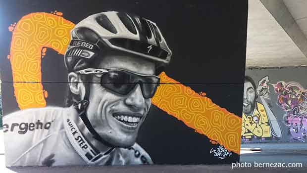 Poitiers street art Tour de France