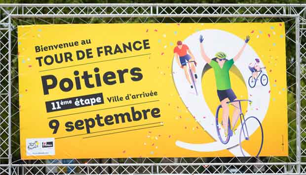 tour de france Poitiers 9 septembre 2020
