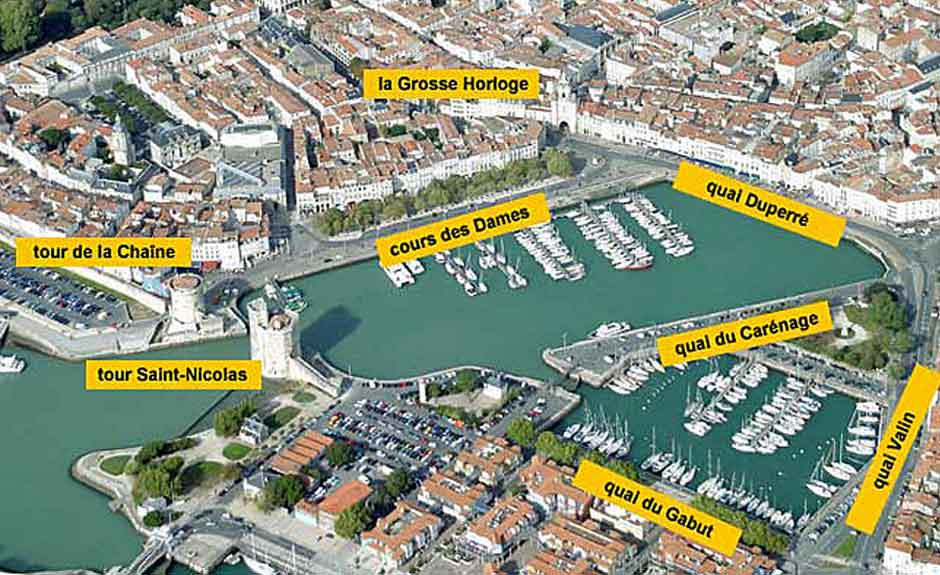 la rochelle le vieux port de la rochelle. Black Bedroom Furniture Sets. Home Design Ideas