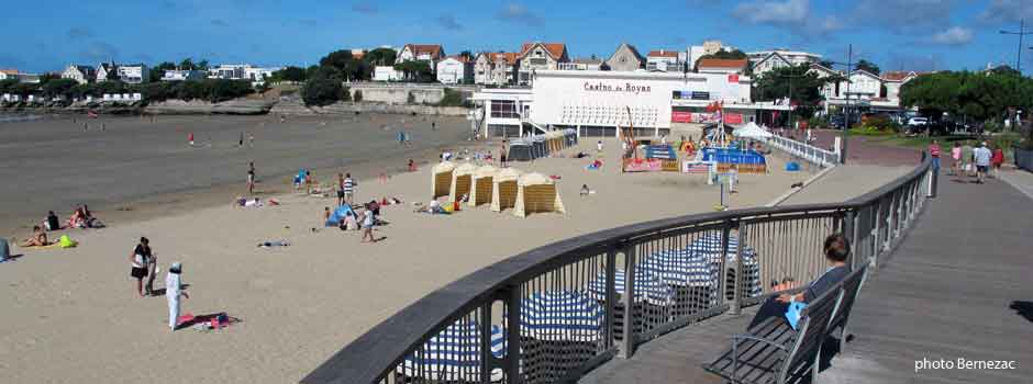 Royan Pontaillac, les planches