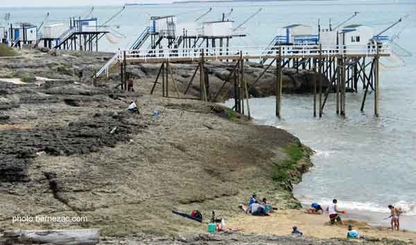 Saint palais sur mer la plage du platin - Office du tourisme de saint palais sur mer ...