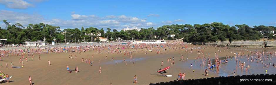 Saint palais sur mer la plage de nauzan - Office du tourisme saint palais sur mer ...