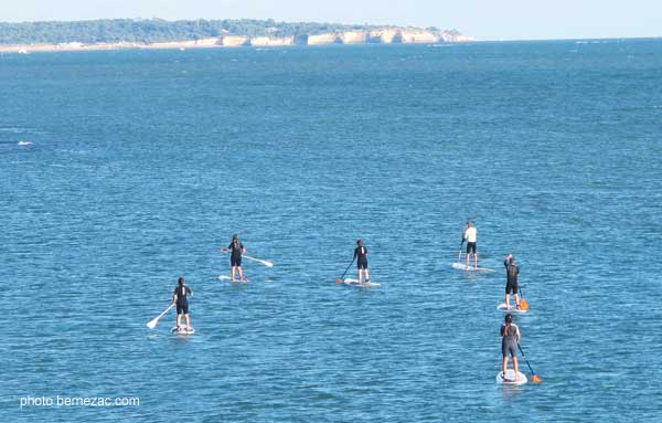 Saint-Palais-sur-Mer, stand up paddle à Nauzan