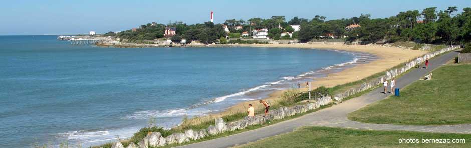 Saint palais sur mer la plage du platin - Office de tourisme de st palais sur mer ...