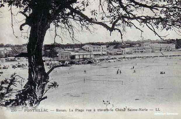 Royan Pontaillac carte postale ancienne